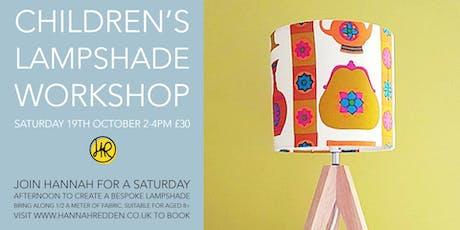 Children's SMALL Lampshade Workshop tickets