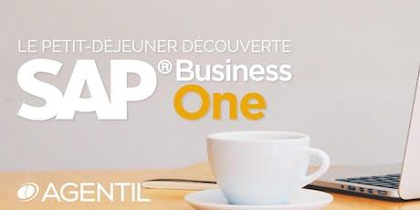Le petit-déjeuner découverte sur SAP Business One billets