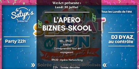 L'Apéro Biznes-Skool : Entreprendre tout en voyageant (Toulon)  billets