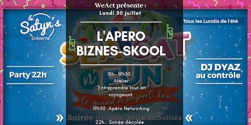 L'Apéro Biznes-Skool : Entreprendre tout en voyageant (Toulon)