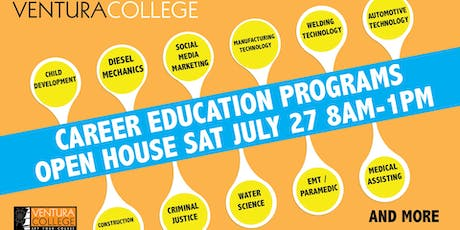 Ventura College Career Education Programs Open House tickets