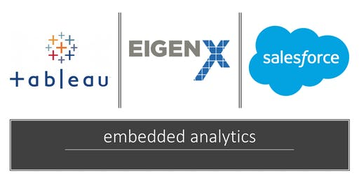 Embedded Analytics and Salesforce with Tableau