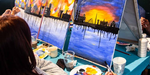 Paint The Dublin Skyline  - Bring Your Own Beer /  (Drink & Draw Ireland)