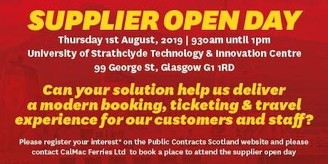 Ar Turas - Supplier Open Day tickets