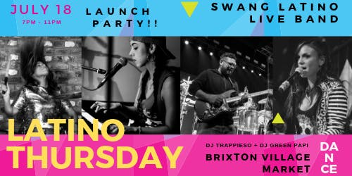 Latino Thursday Launch Party !