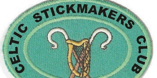 The Celtic Stickmakers Walking Stick Display