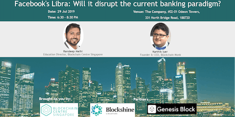 Facebook's Libra: Will it disrupt the current banking paradigm? tickets
