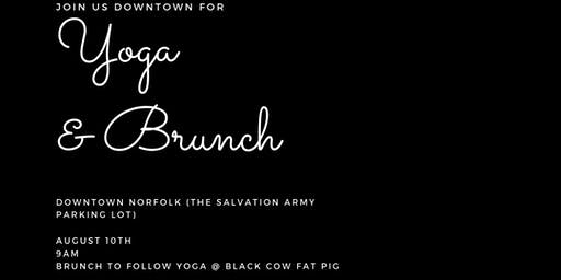 Downtown Yoga and Brunch