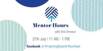 Mentor Hours with Anil Amesur | Nearify Event near Mumbai