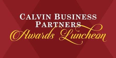 2019 Calvin University Business Partners Awards Luncheon tickets