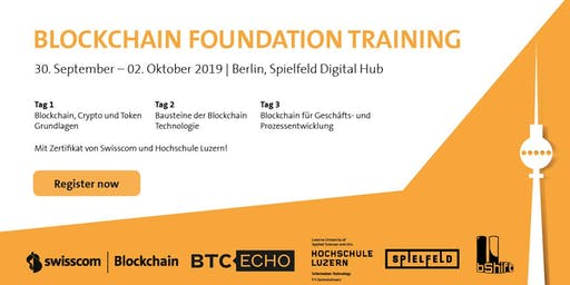 Blockchain Foundation Training Berlin