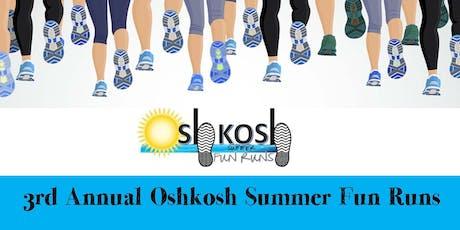 Oshkosh Summer Fun Run: Parent Mile 2019 tickets