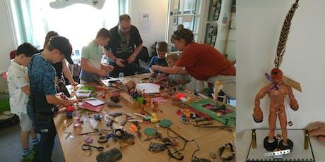 Cut Up & Create! family art & craft workshop tickets