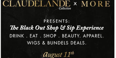 The Black Out Shop & Sip Experience  tickets