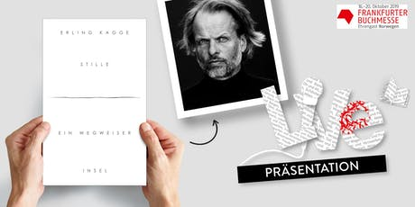 PRÄSENTATION: Erling Kagge Tickets