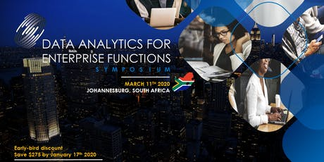 Data Analytics for Enterprise Functions Symposium – South Africa tickets