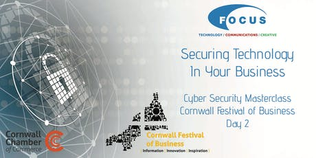 Securing Technology In Your Business - Cyber Security Masterclass tickets