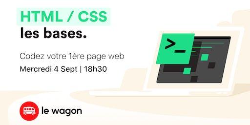 Workshop : Codez votre 1ère page web avec Le Wagon
