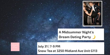 A Midsummer Night's Dream Dating Party - Limited Edition tickets