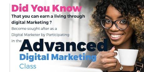 Advanced Digital Marketing tickets