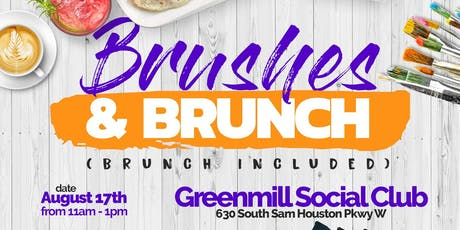 Brushes N Brunch ( A Trap Brunch Paint Party)  tickets