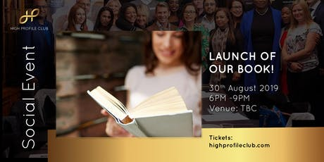 "Social Event: Book Launch for ""50 High Profile Entrepreneurs"" tickets"