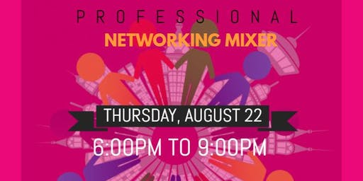 Professional Mixer - WE Networking Event