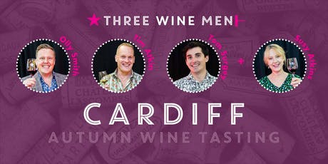 Three Wine Men Cardiff Autumn Wine Tasting tickets