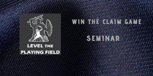 Win the Claim Game Seminar
