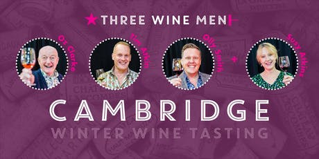 Three Wine Men Cambridge Winter Wine Tasting tickets