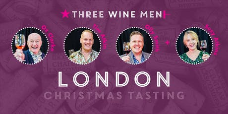 Three Wine Men London Christmas Tasting tickets