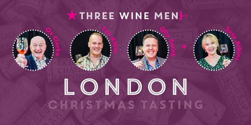 Three Wine Men London Christmas Tasting
