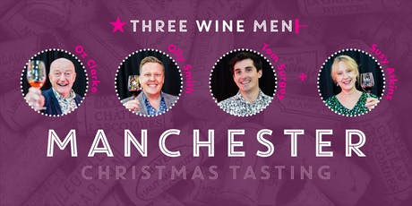 Three Wine Men Manchester Christmas Tasting tickets