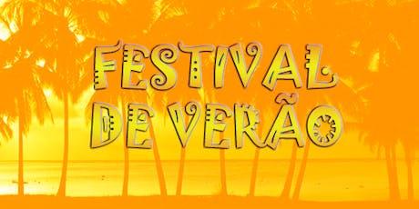 Festival de Verão bilhetes