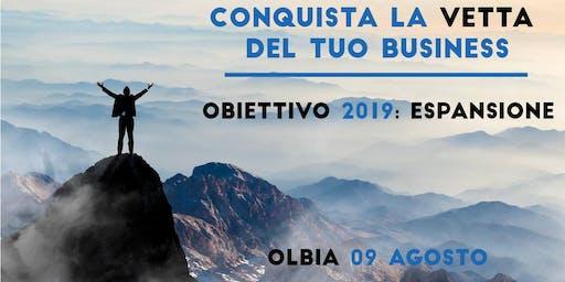 EVENTO Obiettivo 2019: Espansione - Olbia