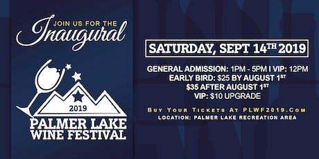 Palmer Lake Wine Festival tickets
