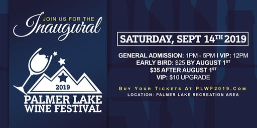 Palmer Lake Wine Festival