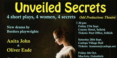Unveiled Secrets tickets
