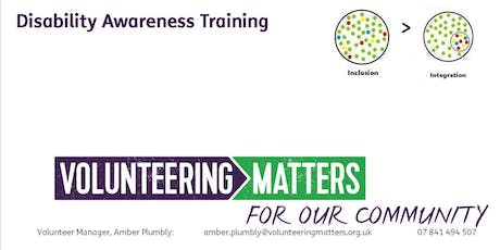 Disability Awareness Training tickets