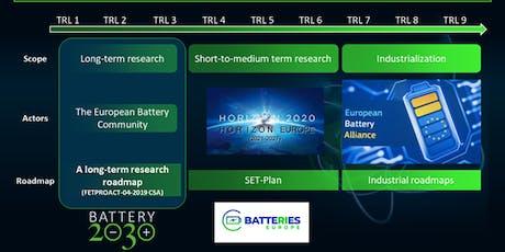 Battery 2030+ tickets