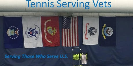 Tennis Serving Vets-August 8th at Anthony F. Veteran Park at 6:30pm tickets