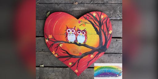 Fall Owls! Mount Airy, MD Sunrooms with Artist Katie Detrich!