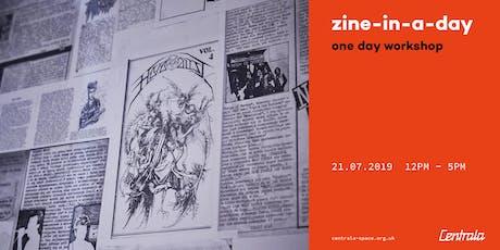 Zine in-a-day workshop tickets