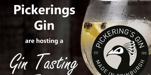 Pickering's Gin Tasting Event
