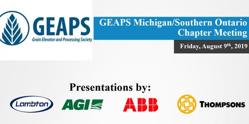 GEAPS Michigan/Southern Ontario Chapter Meeting