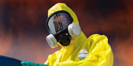 Capacitación en indumentaria de protección química e ignífuga entradas