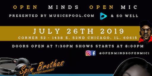 Open Minds Open Mic