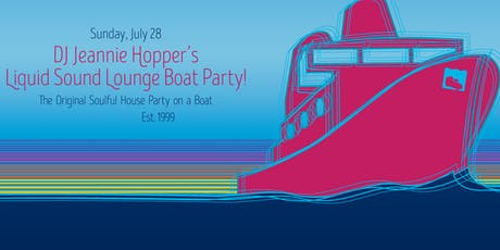 Liquid Sound Lounge Boat Party 20th Anniversary, All Ages. tickets