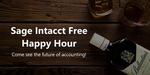 Sage Intacct Free Happy Hour