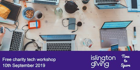 Free charity tech workshop with Time to Spare tickets